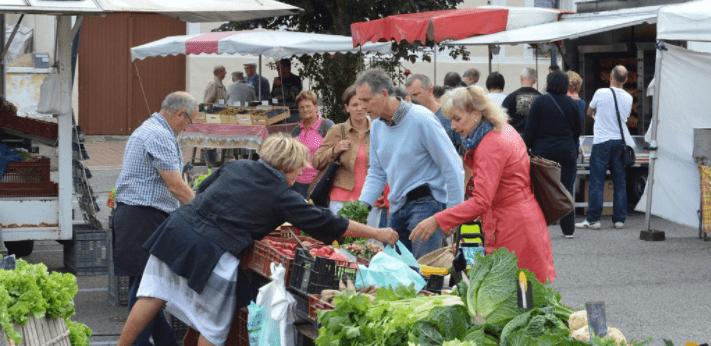 Marché local Saint Romain de colbosc